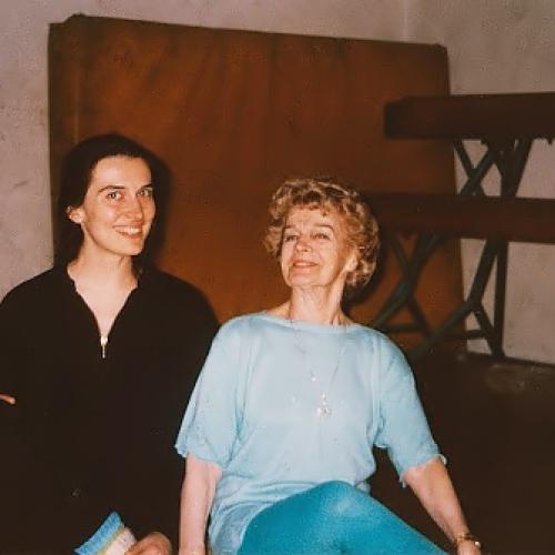 Jasmina Puljo sa svojom učenicom Jelenom Milom